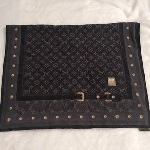 Louis Vuitton Monogram Silk Shawl